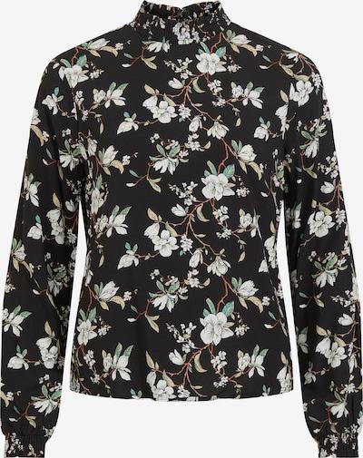 VILA Blouse 'Lana' in de kleur Gemengde kleuren / Zwart, Productweergave