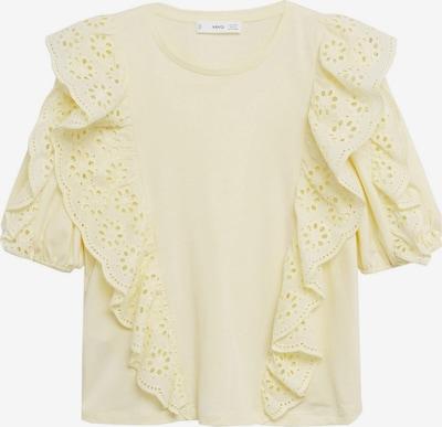 MANGO Shirt 'SWISS' in hellgelb, Produktansicht