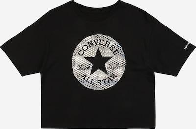CONVERSE T-Shirt in schwarz / weiß, Produktansicht