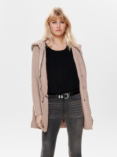 ONLY Between-seasons coat 'SEDONA' in Dusky pink, View model