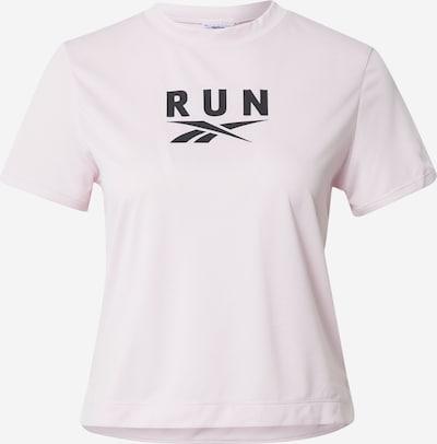 Reebok Sport Koszulka funkcyjna w kolorze pastelowy róż / czarnym, Podgląd produktu