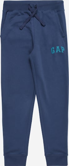 GAP Pantalon en bleu clair / bleu foncé, Vue avec produit