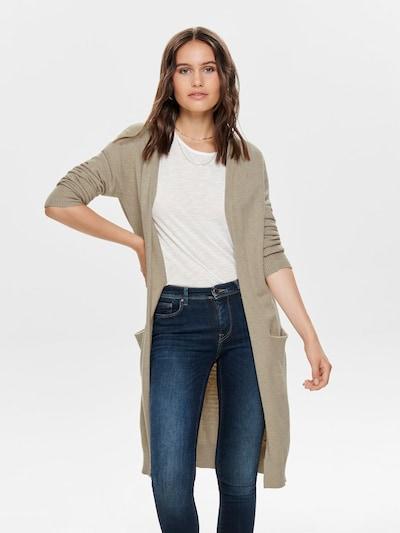 JACQUELINE de YONG Strick-Cardigan in hellbeige, Modelansicht