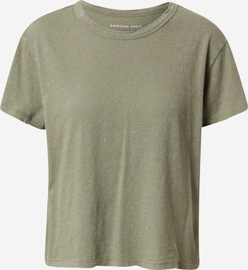 American Eagle Skjorte 'TOMBOY' i grønn