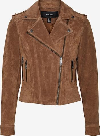 Vero Moda Petite Between-Season Jacket 'Royce Sally' in Brown