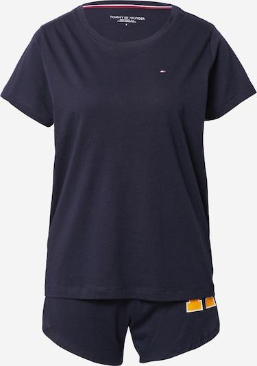 Tommy Hilfiger Underwear Pyjamas i mörkblå / gul, Produktvy