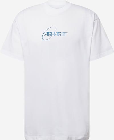 Carhartt WIP T-Shirt 'Orbit' in blau / weiß, Produktansicht