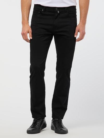 PIERRE CARDIN Hose in schwarz, Modelansicht