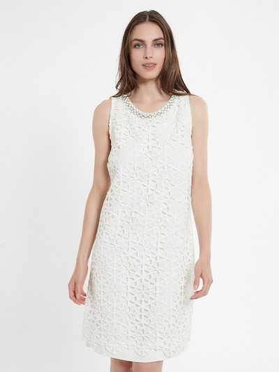 Ana Alcazar Coctailkleid 'Cabi' in weiß, Modelansicht