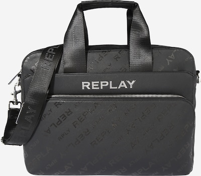 REPLAY Document bag in black, Item view