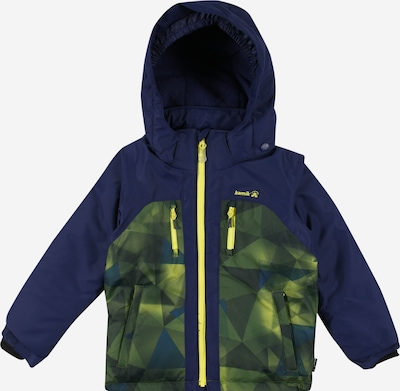 Kamik Outdoor jacket 'Jeremy' in dark blue / olive, Item view