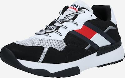 Tommy Jeans Sneakers laag in de kleur Donkerblauw / Rood gemêleerd / Zwart / Wit, Productweergave