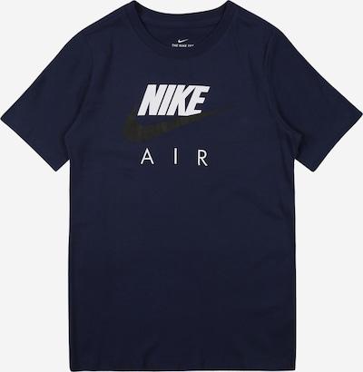 Nike Sportswear T-Shirt in navy / schwarz / weiß, Produktansicht