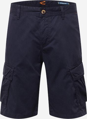 CAMEL ACTIVE Klapptaskutega püksid, värv sinine
