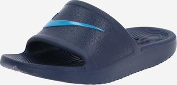 Nike Sportswear Beach & swim shoe 'KAWA' in Blue