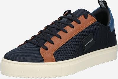 kék / tengerészkék / barna ANTONY MORATO Rövid szárú edzőcipők 'DUGGER', Termék nézet