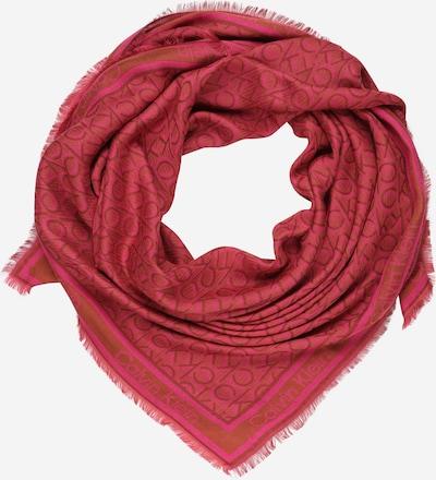 Calvin Klein Écharpe en rouge clair / rouge foncé, Vue avec produit