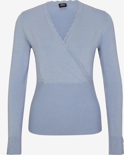 s.Oliver BLACK LABEL Pullover in hellblau, Produktansicht