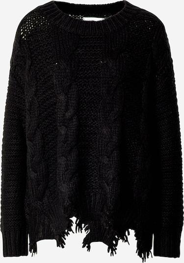 REPLAY Pulover   črna barva, Prikaz izdelka