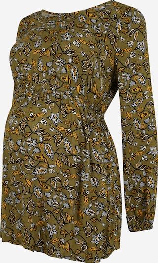 Esprit Maternity Bluse in gelb / oliv / schwarz / weiß, Produktansicht