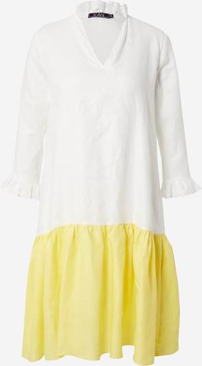 KAN Kleid 'FRANGIPANI' in gelb / weiß, Produktansicht