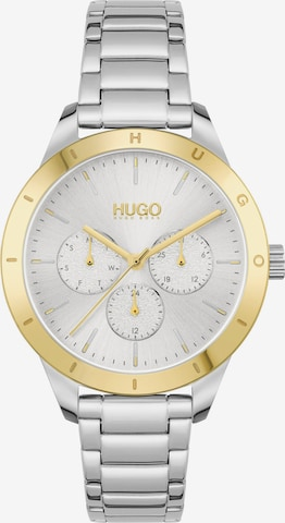HUGO Analog Watch in Silver
