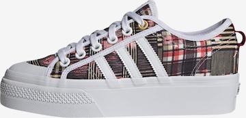 ADIDAS ORIGINALS Sneakers 'Nizza Platform' in Mixed colors
