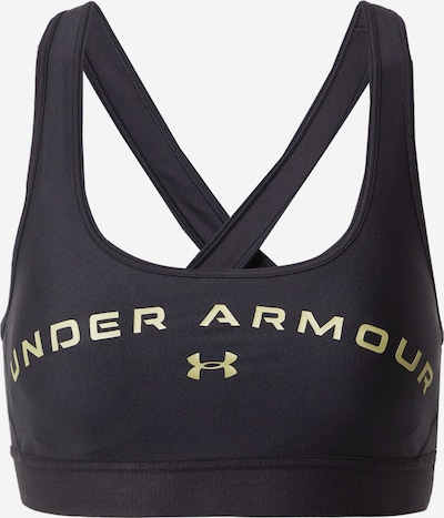 UNDER ARMOUR Sportovní podprsenka - zlatě žlutá / černá, Produkt