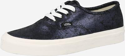 VANS Zemie brīvā laika apavi 'Authentic', krāsa - tumši zils / melns, Preces skats