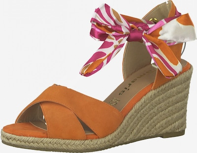 TAMARIS Remienkové sandále - mandarínková, Produkt