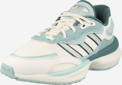 ADIDAS ORIGINALS Sneakers 'Zentic' in Turquoise / Green / Silver / Off white, Item view