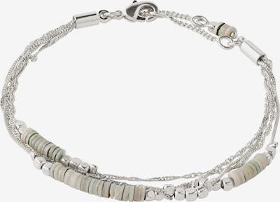 Pilgrim Armband 'Sincerity' in grau / silber, Produktansicht
