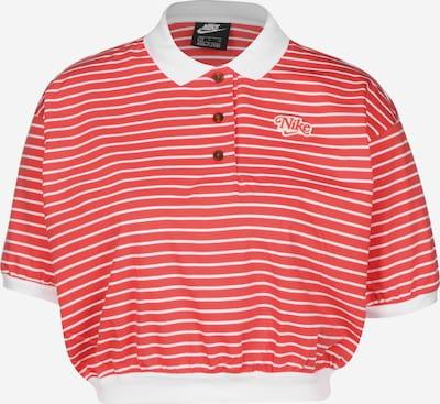 Nike Sportswear Shirt in rot / weiß, Produktansicht
