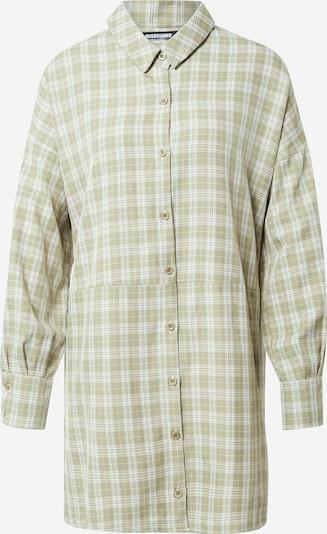 Missguided Košulja haljina u zelena / bijela, Pregled proizvoda