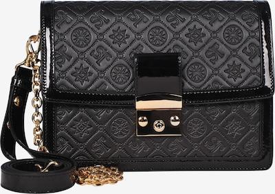 Silvio Tossi Lederhandtasche in schwarz, Produktansicht
