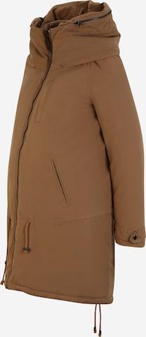 MAMALICIOUS Talvejope 'Tikka', värv pruun