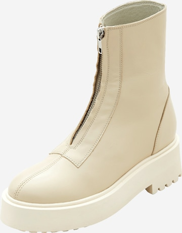 EDITED Ankle Boots 'Herbie' in Beige