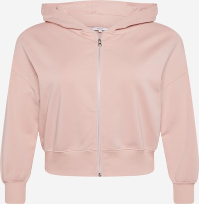 ABOUT YOU Curvy Sweatjacke 'Rea' in rosa, Produktansicht