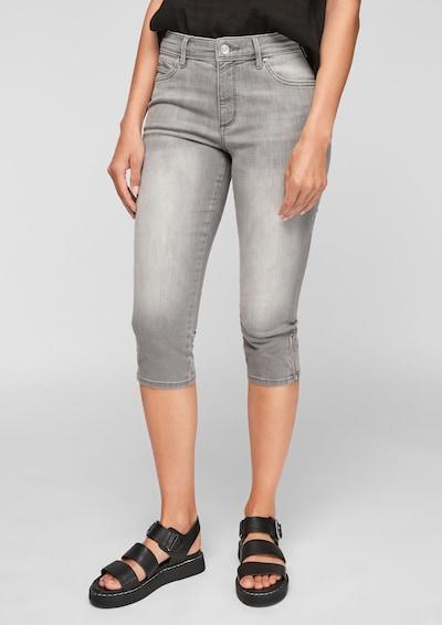 s.Oliver Jeans in hellgrau, Modelansicht