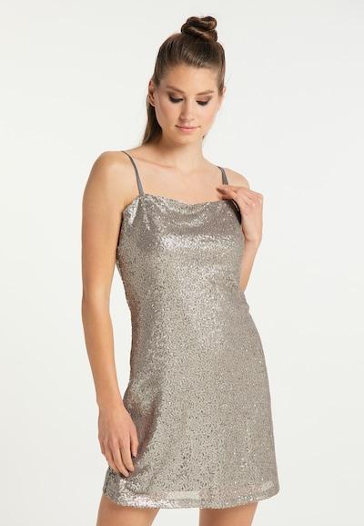 myMo at night Kleid in taupe, Modelansicht