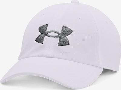 UNDER ARMOUR Sportpet 'Blitzing' in de kleur Grijs / Wit, Productweergave