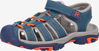 RICHTER Sandals & Slippers in Blue / Orange, Item view