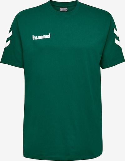 Hummel T-Shirt fonctionnel en vert / blanc, Vue avec produit