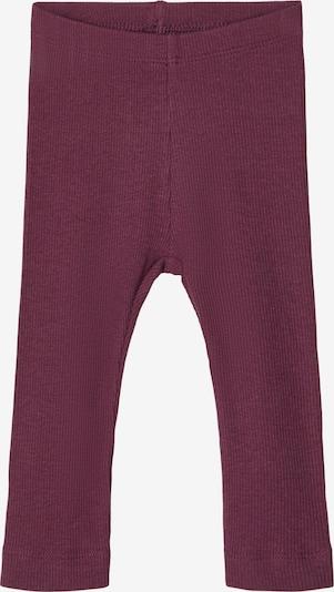 NAME IT Leggings en prune, Vue avec produit