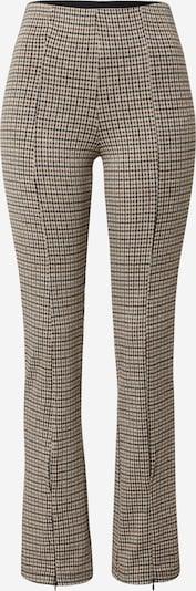 SISTERS POINT Pantalon 'PIPI-PA' en marron / noir / blanc, Vue avec produit