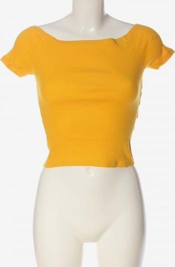 Urban Classics Cropped Shirt in XS in hellorange, Produktansicht