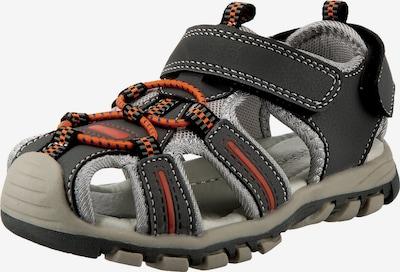 Happy Bee Sandals & Slippers in Grey / Orange / Black, Item view