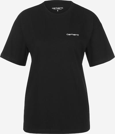 Carhartt WIP T-Shirt ' Script Embroidery ' in schwarz, Produktansicht