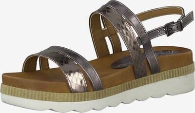 MARCO TOZZI Sandalen in grau, Produktansicht