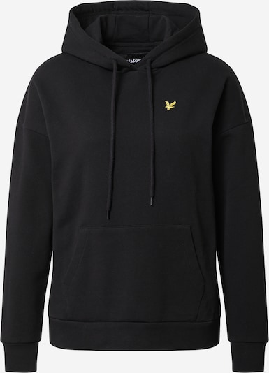 Lyle & Scott Sweatshirt in gold / schwarz, Produktansicht